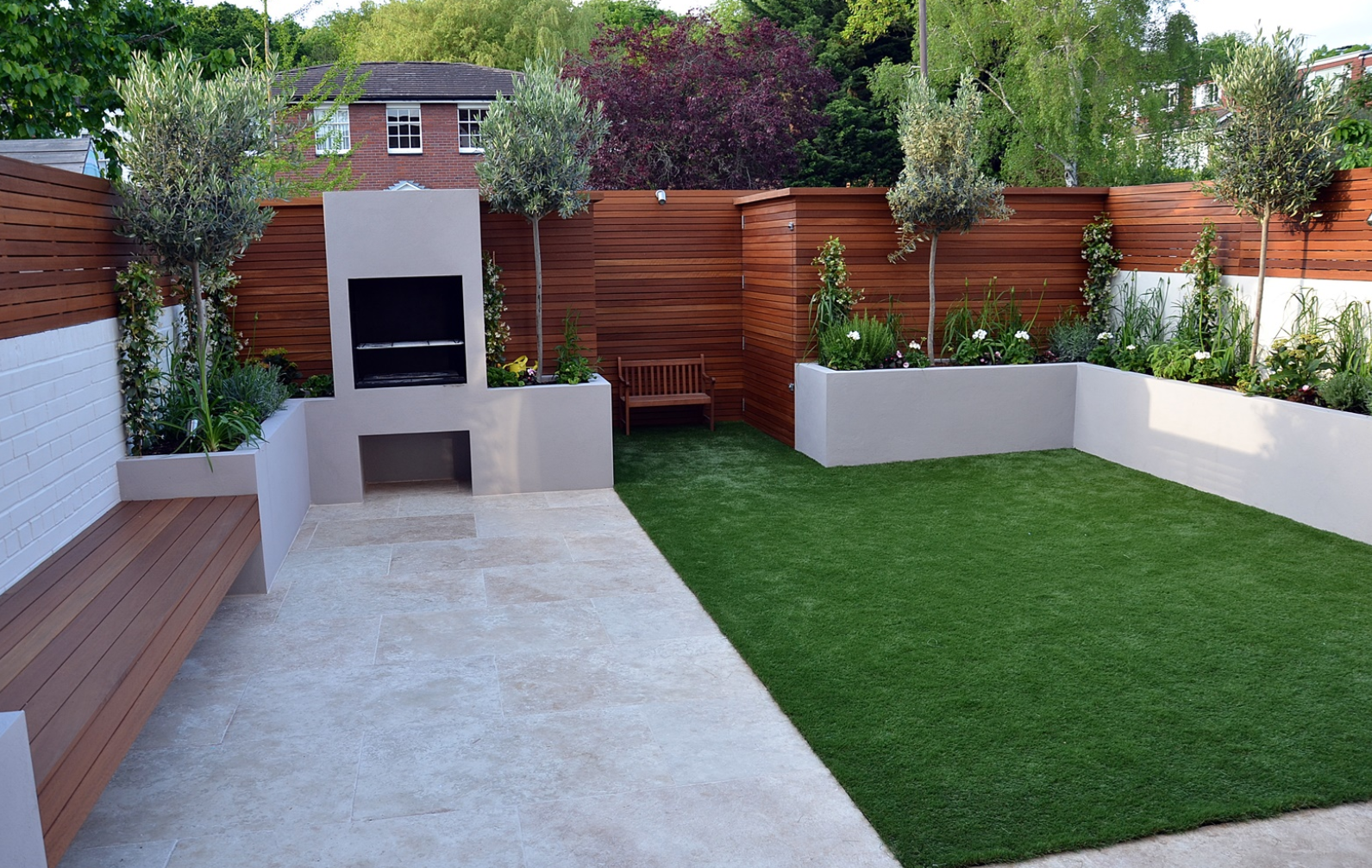 The Best Contemporary Front Garden Design Ideas for Modern ...