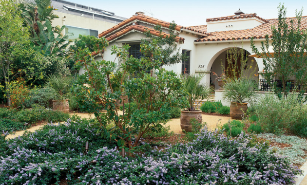 Drought tolerant landscape plans