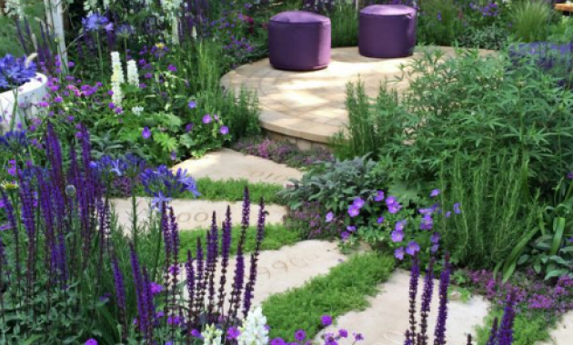 Cottage garden design plans