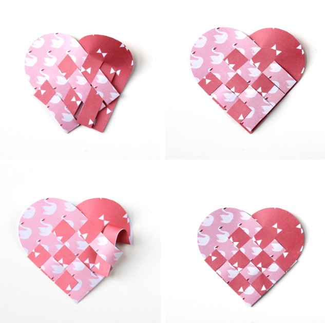 How to Make a Heart Out Of Paper Step by Step