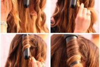 How to Use a Curling Wand Step by Step