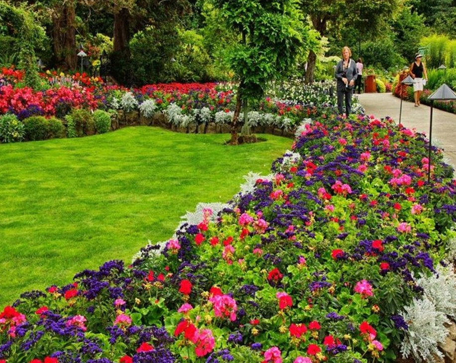 How to Use a Flower Garden Design
